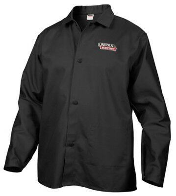 Lincoln Electric KH808XXL Welding Jacket, Extra Extra Large, Black