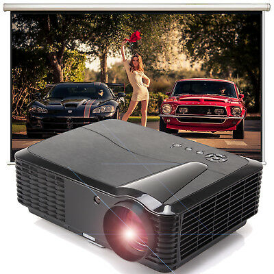 LX500HD Beamer LED WXGA @Native 1280x800@ Projektor 2x HDMI 2x USB HD Ready 720p