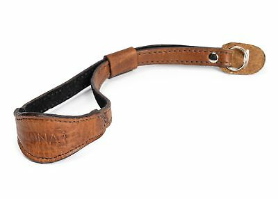 ONA - The Kyoto - Antique Cognac Leather Camera Wrist Strap
