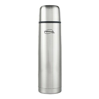 Thermos Thermocafe Stainless Steel Drink Flask Vacuum Insulated Container 350ml