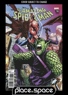 Amazing Spider-Man, Vol. 4 #798B - 1St Full Red Goblin Connecting Variant (Wk14)