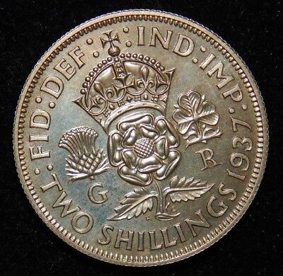 1937 Great Britain Proof 2 Shillings