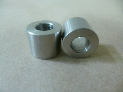 """3//16/"""" ID x 1//4/"""" OD x 1//8/"""" LONG STAINLESS STEEL STANDOFF SPACER BUSHING"""