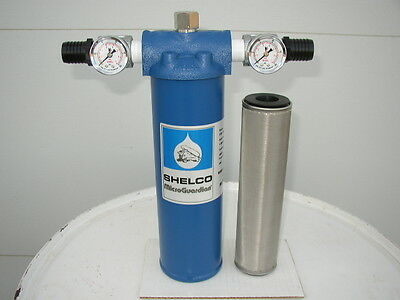 New 10 Micron Cleanable Filter System,Waste Oil,Diesel,Fuel Oil,Bulk Oil, USA!!