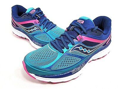 0b3eb413ce SAUCONY GUIDE 10 Running Shoe Women's Teal/navy/pink S10350-3 Medium New