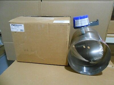 "1 Nib Field Controls 46487501 Gvd-10 Vent Damper 10"" W/o Harness"