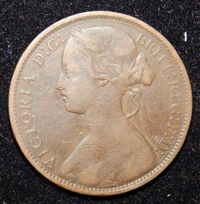 Great Britain Penny 1862