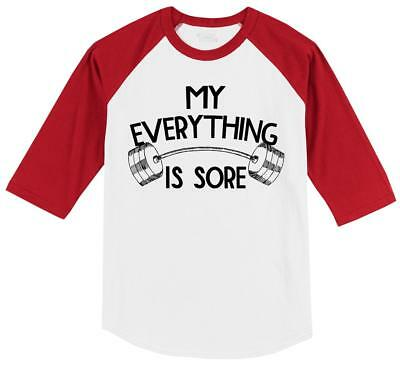 2188C Gym motto Adult/'s T-shirt Workout and Be Sore or Sorry  Tee for Men