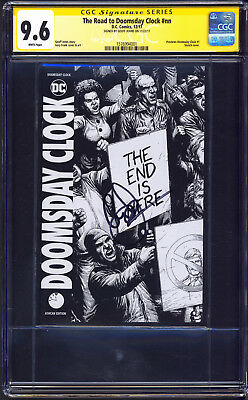 The Road to Doomsday Clock #NN ASHCAN First APPEARANCE CGC 9.6 S GEOFF JOHNS NM+