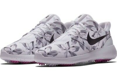 NIKE ROSHE G Men's Golf Shoes MAGNOLIA Print Masters Limited Edition Size 8.5