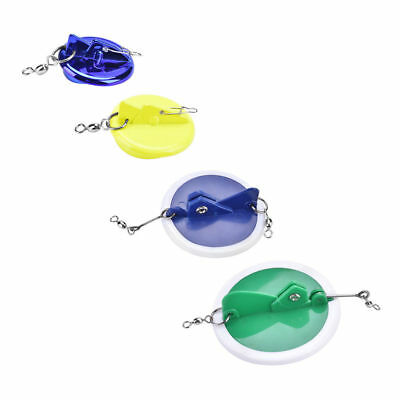 Adjustable Angle Sea Fishing Round Disc Trolling Connector With Lead Sinker DY