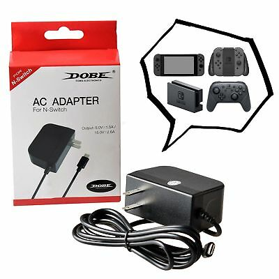 DOBE 1.5m USB Type-C Charger High Speed AC Power Adapter for Nintendo Switch