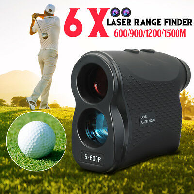 Telescope Laser Range Finder Golf Hunting Sports Meter Distance Speed Measurer