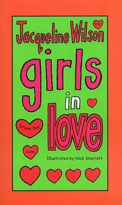 055254521X Paperback Girls in Love Jacqueline Wilson Very Good