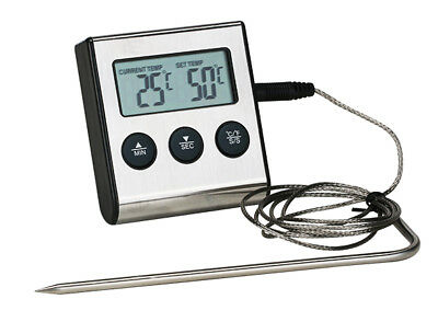 Grillthermometer Bratenthermomter Fleischthermometer Fleisch Thermometer Küchen