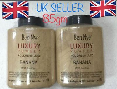 Ben Nye Luxury Banana Powder Bottle Face Makeup Kim Kardashian 85g