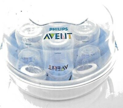 Philips Avent Microwave Steam Sterilizer 4 Bottles in 2 Minutes