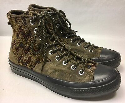55a1978a9a59 RARE! CONVERSE X Missoni Hiker Wool   Suede Chuck Taylor All Star 11 ...