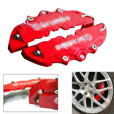 Car Wheel Brake Caliper Cover Front Rear Dust Resist Protection Dia 14 - 17 Inch