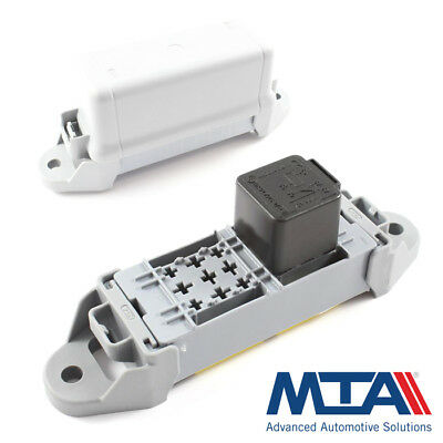 Relay Holder / Box - Holds 2x Relays 12v 24v Complete with Terminals - MTA Italy