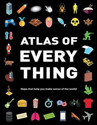 Atlas of Everything by Simkins, Ed Book The Cheap Fast Free Post