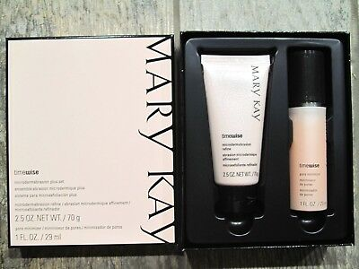 Mary Kay TimeWise Microdermabrasion Plus Set - NEW & FRESH - FREE SHIPPING