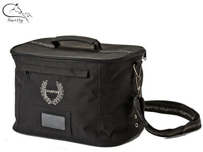 Champion Burghley Riding Hat Bag Hat Storage Black FREE DELIVERY