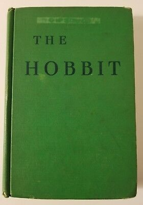 The Hobbit by J.R.R. Tolkien, 1954 Hardcover, 2nd Edition/Second (2nd) Printing