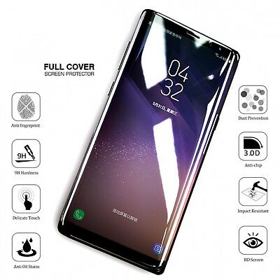 Full Cover Tempered Glass Screen Protector For Samsung Galaxy S7 S8 S9 S10 Plus