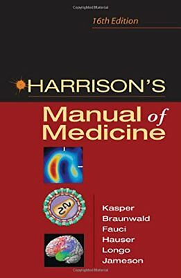 Harrison's Manual of Medicine: 16th Edition by Jameson, J. Larry Paperback Book