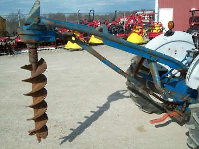 Used Original Ford 3-Point Hitch Post Hole Digger  ; Sells No Reserve !!