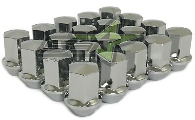 24 GMC Sierra Oem Factory Chrome Style Lug Nuts 14x1.5 22mm Hex OEM Perfect Fit!