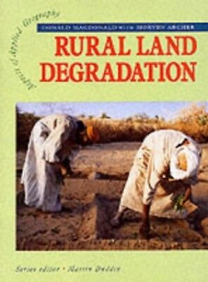 AAG: Rural Land Degradation (Aspects Of Applied... by McDonald, Donald Paperback
