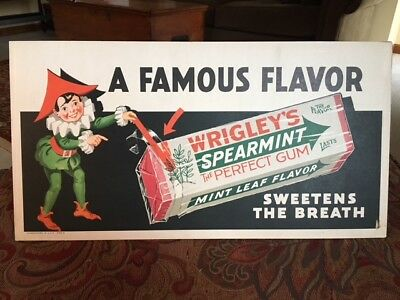 Old Wrigley's Gum Sign