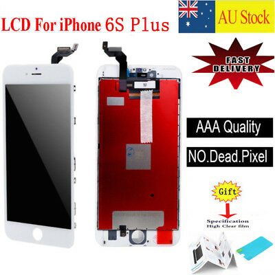 "For iPhone 6S Plus 5.5"" White LCD Digitizer Touch Screen Assembly Replacement"