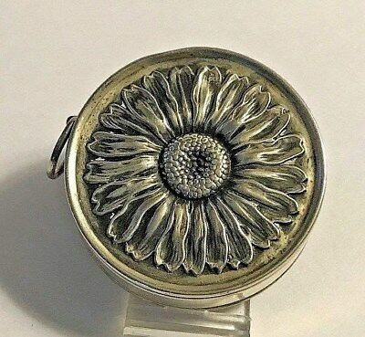 Antique Beautiful * JESSY * Webster Sterling Silver Daisy Measuring Tape #209