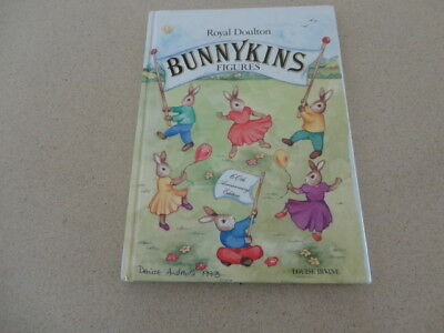 Royal Doulton Bunnykins Figures 60th Anniversary Signed Hard Copy Limited Editio