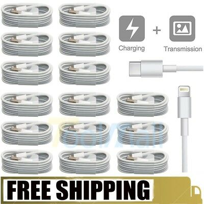 15X 1M/3.3FT Lightning Charge Sync Cable Charger for iPhone 6 6S 5 5S 7/8 Plus