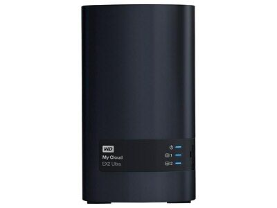 WD My Cloud EX2 Ultra Diskless 2 x 3.5 inch hard drive bays_ hot swap capable_ t