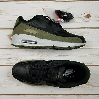 new styles 0f6fd fba9d NIKE AIR MAX 90 HAL w/Patches Black Black Olive AH9974 002 - Men 8 ...