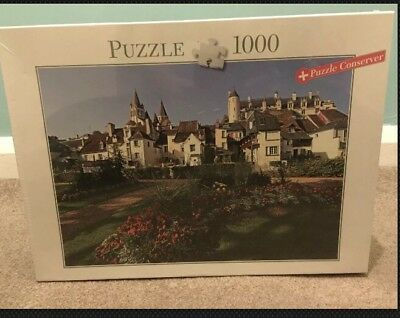 Red and white Lighthouse 1000 Piece Jigsaw Puzzle Conserver Blatz 693mm x 493 mm
