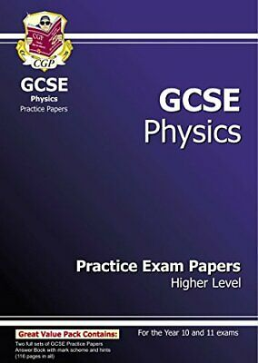 GCSE Physics Practice Exam Papers - Higher (A*-G course) by CGP Books Paperback