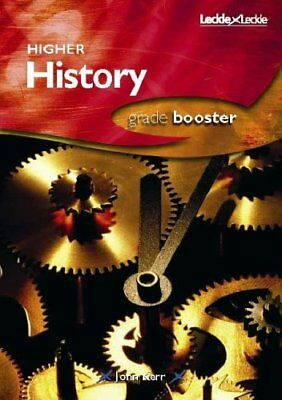 HIGHER HISTORY GRADE BOOSTER by John Kerr Paperback Book The Cheap Fast Free