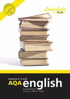 Achieving A* in GCSE AQA English (Specification A): GC... by Edge, Jan Paperback