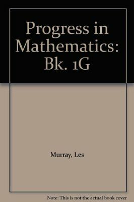 Progress in Mathematics by Murray, Les Paperback Book The Cheap Fast Free Post