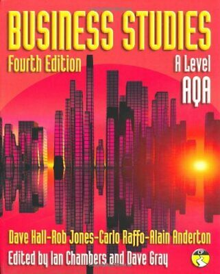Business Studies for AQA by Gray, Mr Dave Paperback Book The Cheap Fast Free