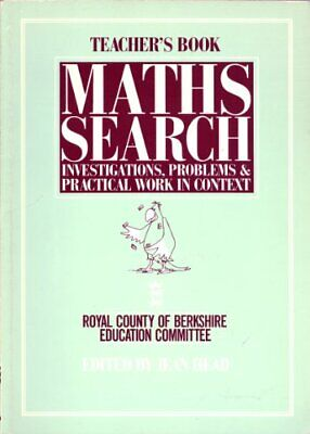 Mathematics Search: investigations, problem... by Royal County of Berk Paperback