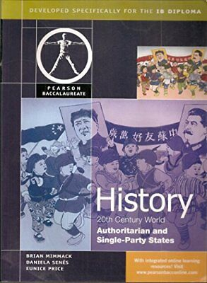 Pearson Baccalaureate: History: C20th World- Auth... by Senes, Daniela Paperback