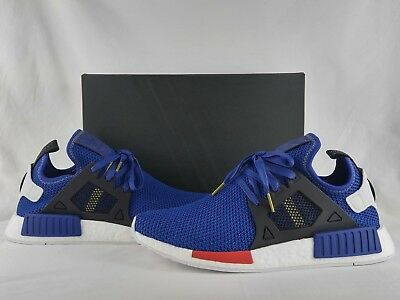 low priced e04e2 c0a56 norway adidas nmd r1 mystery blue 0d75c 763cf  amazon adidas originals  nmdxr1 nomad boost mystery blue vivid red white black ac7185 a355e 85dc0