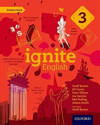 Ignite English: Student Book 3 by Barton, Geoff Book The Cheap Fast Free Post